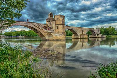 Photograph - Pont D'avignon France_dsc6031_16 by Greg Kluempers