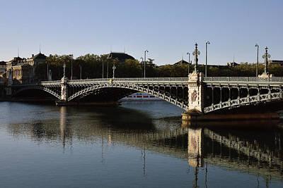 Photograph - Pont De L' Universite by Harvey Barrison