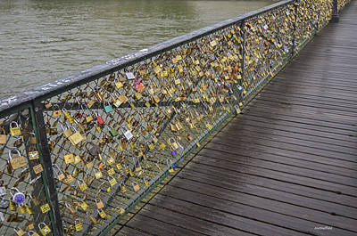 Photograph - Pont Des Artes by Allen Sheffield