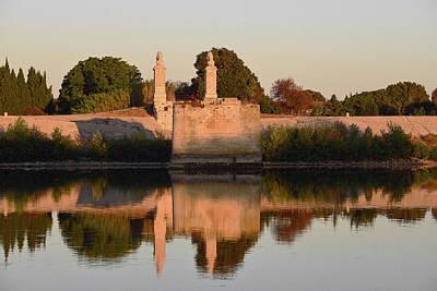 Photograph - Pont Des Lions At Sunrise by Harvey Barrison