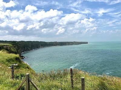 Photograph - Pointe Du Hoc by Charles Kraus