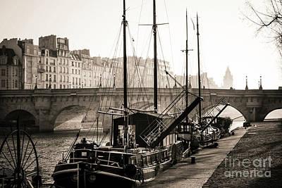 Pont Neuf And The Ile De La Cite In Paris, France, Europe Art Print by Bernard Jaubert