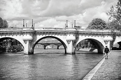 Photograph - Pont Neuf, Paris by Jean Gill
