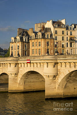 Photograph - Pont Neuf - River Seine - Paris by Brian Jannsen