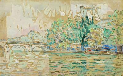 Pont Royal Art Print