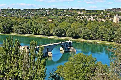 Photograph - Pont Saint-benezet by Binka Kirova