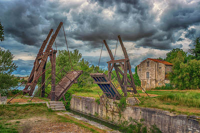 Photograph - Pont Van Gogh Arles France _dsc5850_16 by Greg Kluempers
