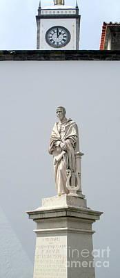 Photograph - Ponta Delgada Statue 8 by Randall Weidner