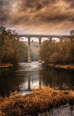 Photograph - Pontcysyllte Aqueduct  by Andrew White