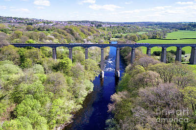 Photograph - Pontcysyllte Aqueduct by Steev Stamford