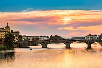 Photograph - Ponte All Carraia by Mihai Andritoiu