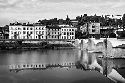 Photograph - Ponte Alla Grazie by Mick Burkey
