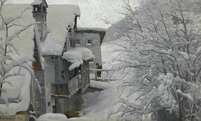 Painting - Ponte-campovasto by Peder Monsted