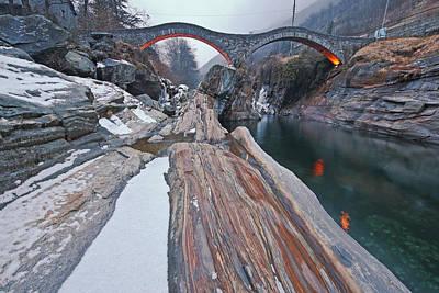 Switzerland Photograph - Ponte Dei Salti by Joana Kruse