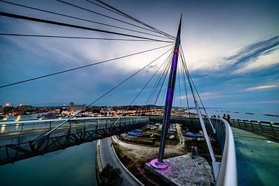 Photograph - Ponte Del Mare 2 by Randy Scherkenbach
