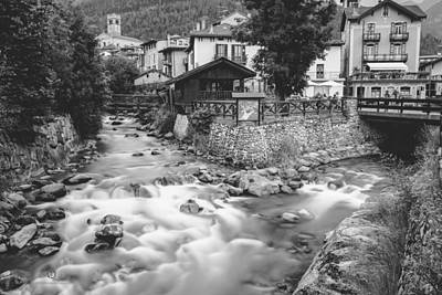 Photograph - Ponte Di Legno  by Cesare Bargiggia