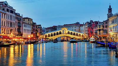 Photograph - Ponte Di Rialto by Fabrizio Troiani