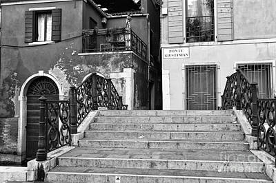 Photograph - Ponte Giustinian by John Rizzuto