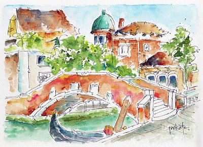 Painting - Ponte Marcello Venezia by Pat Katz