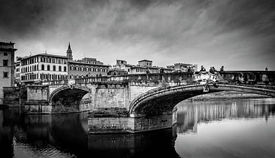 Photograph - Ponte Santa Trinita by Sonny Marcyan