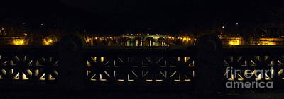Photograph - Ponte Sisto At Night by Angela Rath
