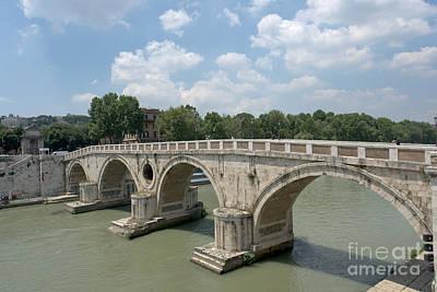 Ponte Sisto Art Print