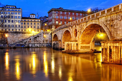 Photograph - Ponte Sisto by Fabrizio Troiani
