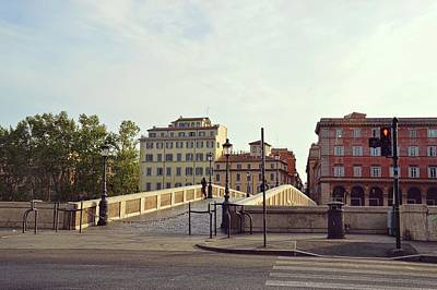 Ponte Sisto Art Print by JAMART Photography
