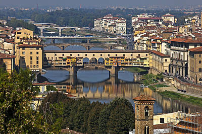 Florence Photograph - Ponte Vecchio - Florence by Joana Kruse