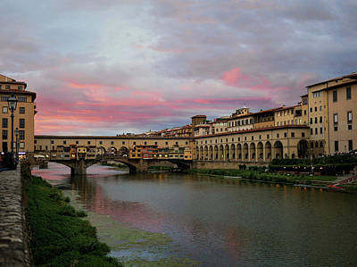 Photograph - Ponte Vecchio #2 by S Paul Sahm