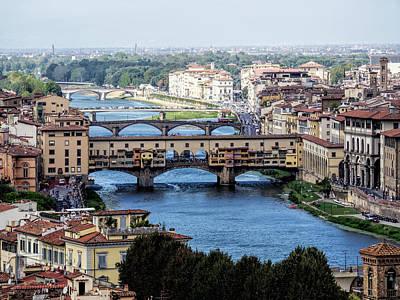 Photograph - Ponte Vecchio #3 by S Paul Sahm