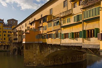 Photograph - Ponte Vecchio 4 by Art Ferrier