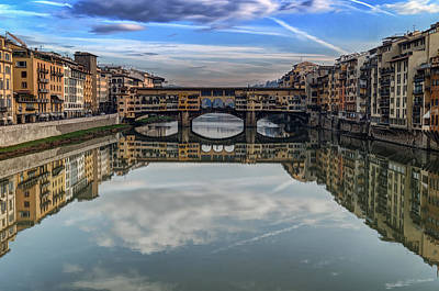 Photograph - Ponte Vecchio by Adam Rainoff