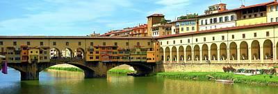 Photograph - Ponte Vecchio After Gelato by Dan Gildor