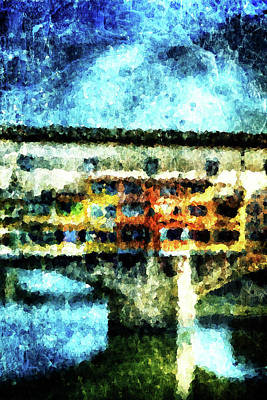 Ponte Vecchio Print by Andrea Barbieri