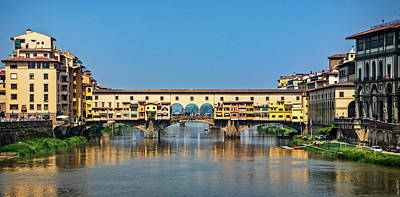 Photograph - Ponte Vecchio Bridge by Carolyn Derstine