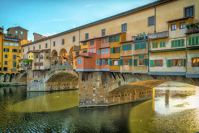 Photograph - Ponte Vecchio by David Cote