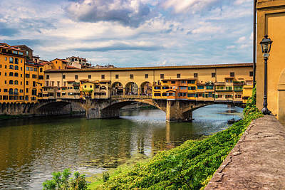 Photograph - Ponte Vecchio Florence Italy 7k_dsc2439_09152017 by Greg Kluempers