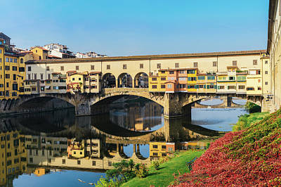 Photograph - Ponte Vecchio, Florence, Italy by Alexandre Rotenberg