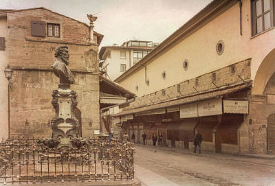 Photograph - Ponte Vecchio Florence Italy by Joan Carroll