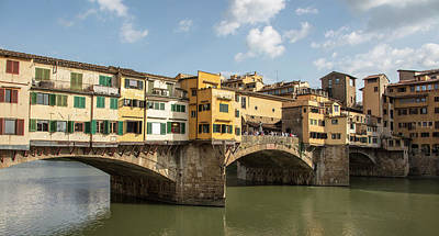 Photograph - Ponte Vecchio In Florence Italy  by John McGraw