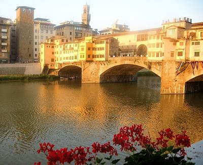 Photograph - Ponte Vecchio In Florence by Lisa Boyd