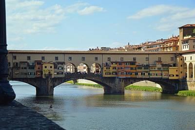 Photograph - Ponte Vecchio by JAMART Photography