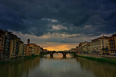 Ponte Vecchio Art Print by Lisa OConnor