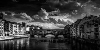 Ponte Vecchio Of Florence Art Print
