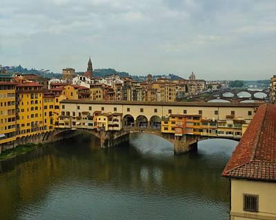 Photograph - Ponte Vecchio by Patricia Strand