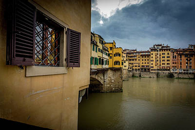 Photograph - Ponte Vecchio by Sonny Marcyan