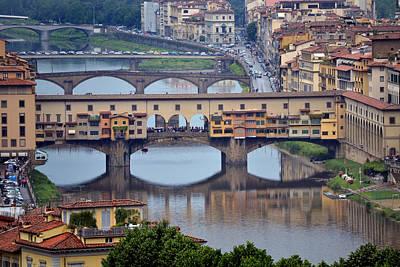 Ponte Vecchio Print by Terence Davis
