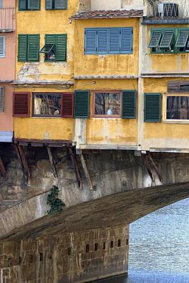Photograph - Ponte Veccio 2 by Al Hurley
