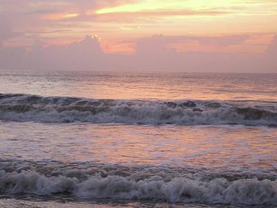 Photograph - Ponte Vedra Sunrise by Colleen Keller Breuning